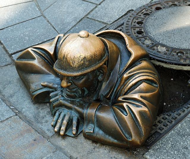 Bratislava, Sculpture, Slovakia, Figure