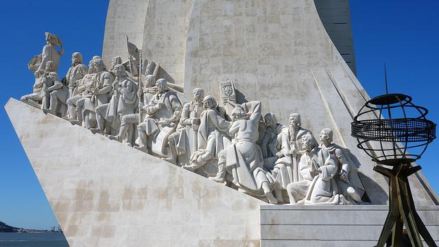 Monument Of The Discoveries, Sculpture, Statue, Travel