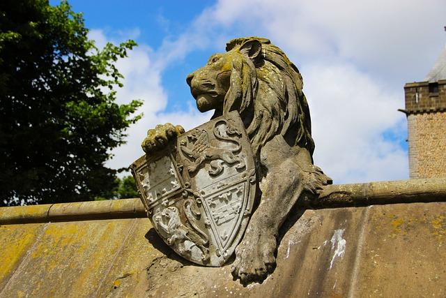 Stone Sculpture, Lion, Sculpture, Stone, Statue