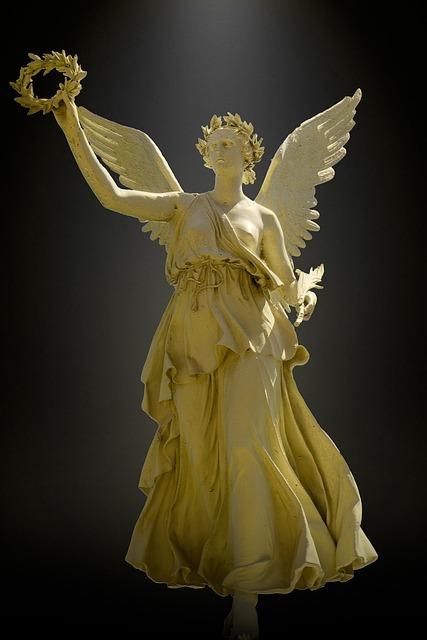 Angel, Stature, Monument, Sculpture, Figure, Stone