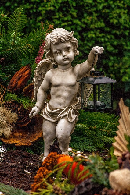 Angel, Stone, Cemetery, Sculpture, Statue, Art, Fig
