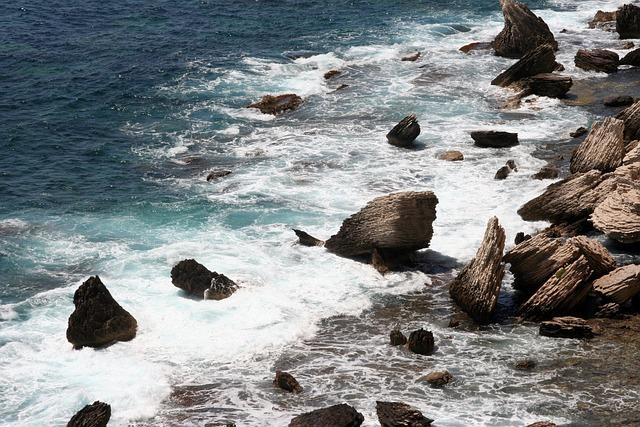 Sea, Wave, Ocean, Side, France, Scum, Corsican