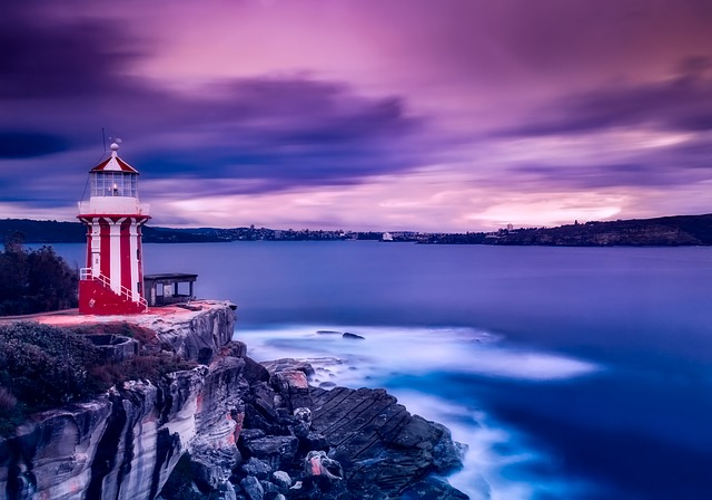 Sydney, Australia, Bay, Harbor, Sea, Ocean, Waves