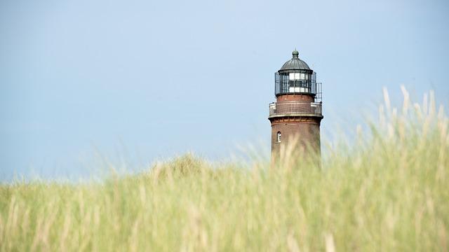 Lighthouse, Darß, Baltic Sea, Sky, Coast, Beach, Sea