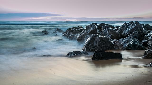 Body Of Water, Sea, Ocean, Side, Beach, Wave, Nature