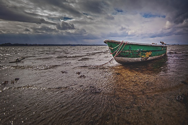 Waters, Sea, Travel, Coast, Beach, Boot, Old, Wood