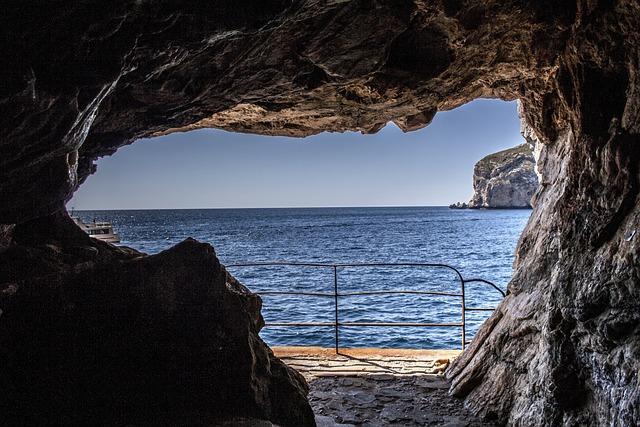Caves, Neptune, Capo Caccia, Glimpse, Sea, Excursions