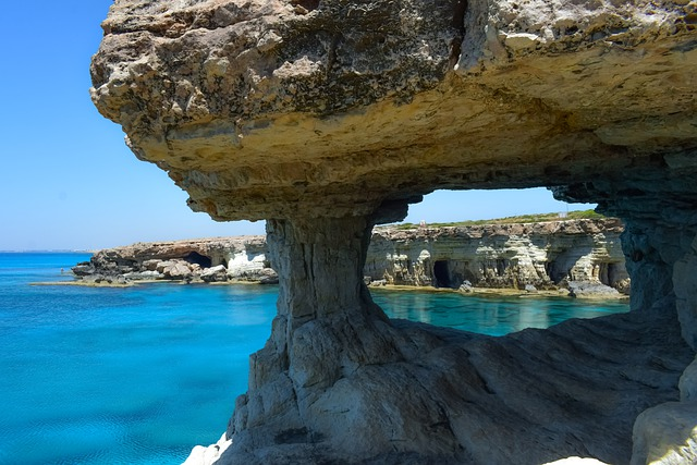 Cavo Greko, Cyprus, Sea Caves, Nature, Cliff, Sea