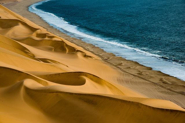 Dunes, Sea, Coast, Sand