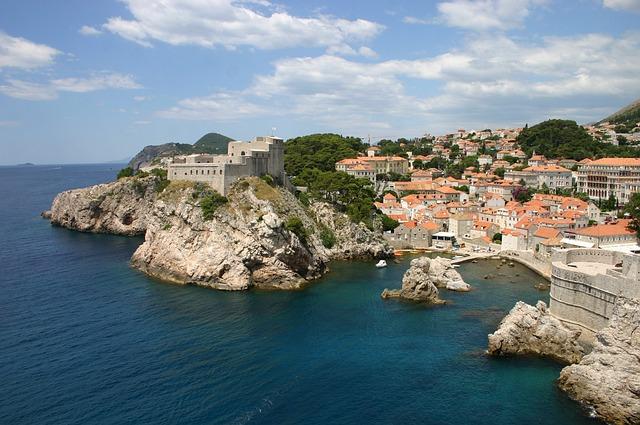 Croatia, Dubrovnik, Coast, Old, Sea, Dalmatia, Vacation