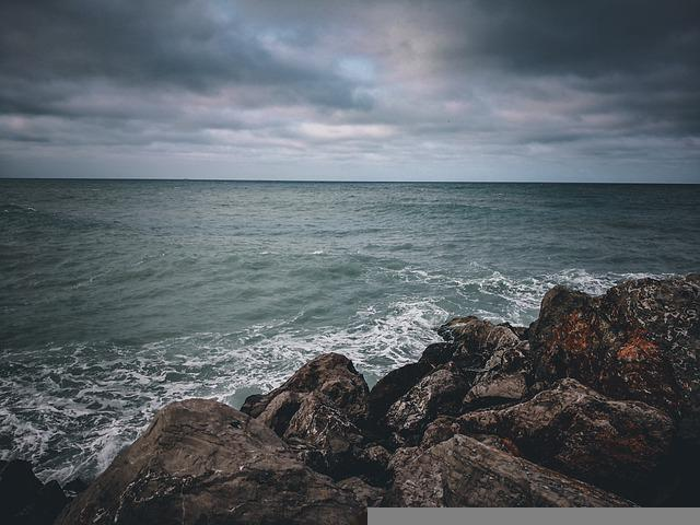 Sea, Beach, Rock, Water, Ocean, Seascape, Coast