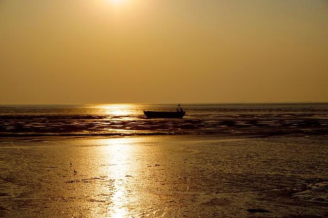 Sunset, Waters, Dawn, Sun, Dusk, Sea, Seascape, Coast