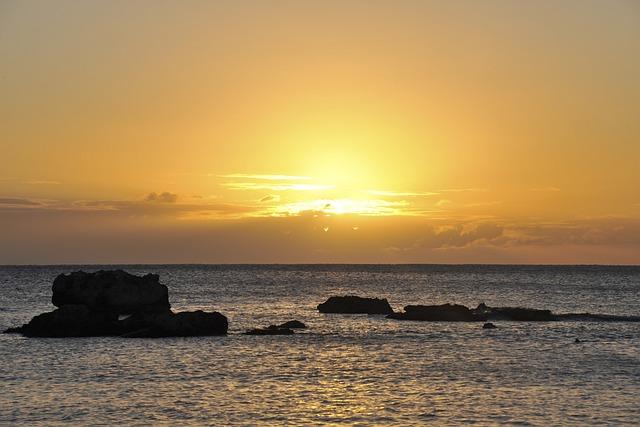 Sunset, Dawn, Body Of Water, Twilight, Sea