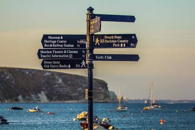 Swanage Bay, Dorset, Sea
