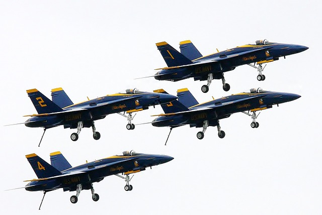 Airplane, Blue Angles, Aircraft, Sea Fair, Seattle