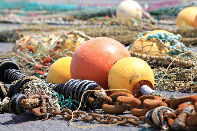 Buoy, Trawler, Netting, Fishing, Port, Fisherman, Sea