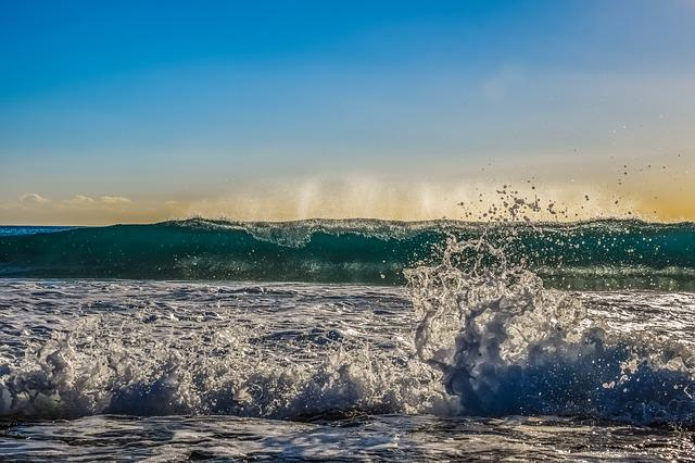 Wave, Foam, Spray, Sea, Water, Nature, Beach, Splash