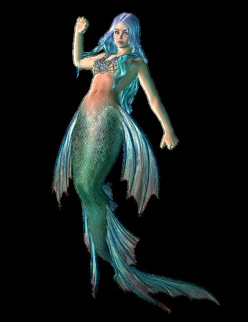 Mermaid, Myth, Girl, Sea, Fairy, Tale, Underwater