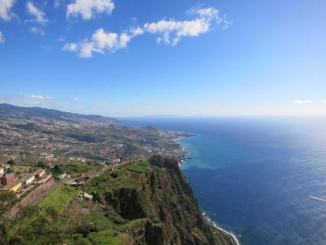 Madeira, Highest Steilküste Europe, Sea, Panorama