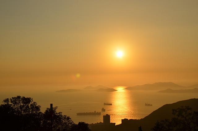 Ocean, Hong Kong, Sea, Hong Kong Skyline, Boat, Famous