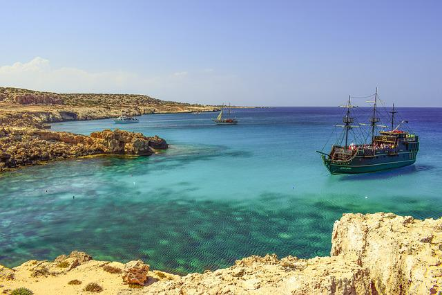 Cyprus, Cavo Greko, Mediterranean, Landscape, Sea