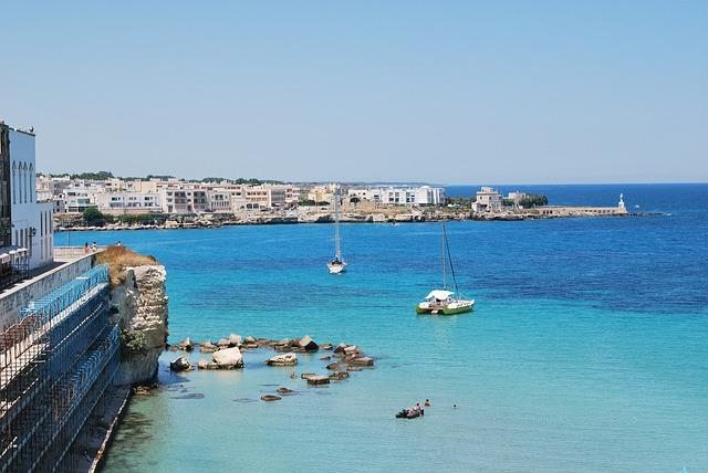 Salento, Puglia, Sea, Gallipoli, Italy, Landscape, Pier