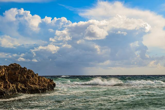 Sky, Sea, Clouds, Beach, Nature, Landscape, Seashore