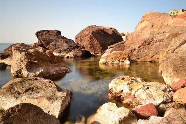Landscape, Rocks, Sea, Nature, Light, Spain, Mallorca