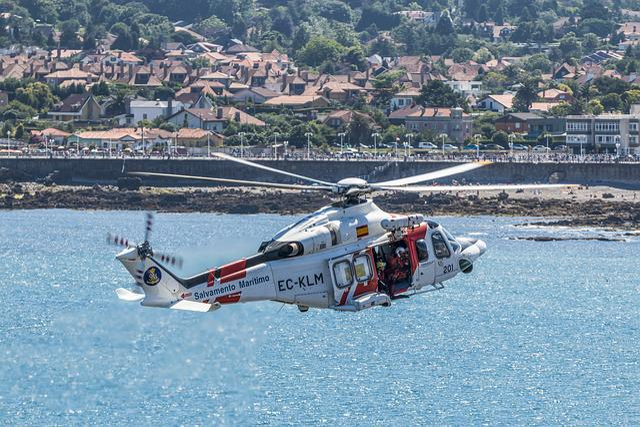 Helicopter, Rescue, Sea, Maritime Rescue