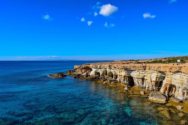 Sea Caves, Coast, Sea, Nature, Cave, Rock, Scenery