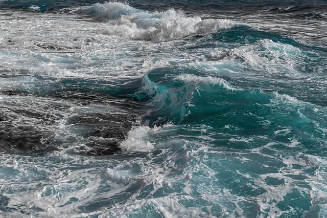 Waves, Water, Sea, Nature, Ocean, Seascape, Surf