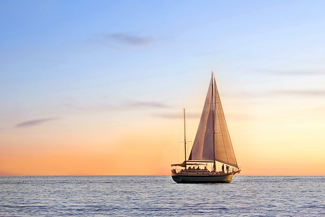 Seascape, Sail Boat, Sailing, Ocean, Sea, Water