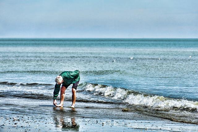 Waters, Sea, Man, Beach, Ocean
