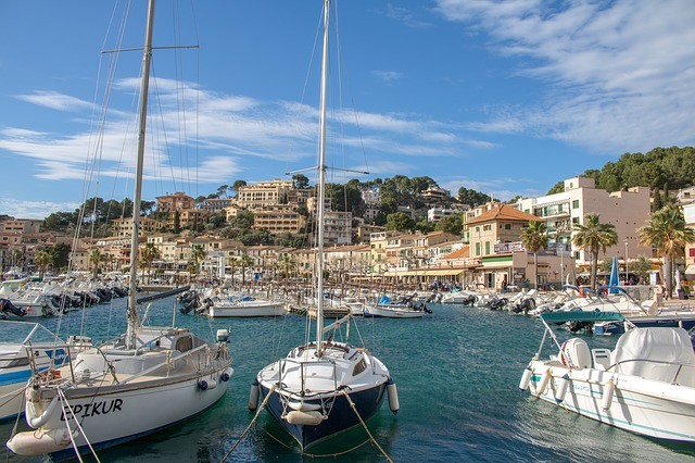 Mallorca, Port De Sóller, Sea, Yacht, Port