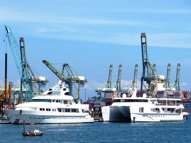 Ship, Harbor, Shipyard, Port, Boat, Sea, Transportation