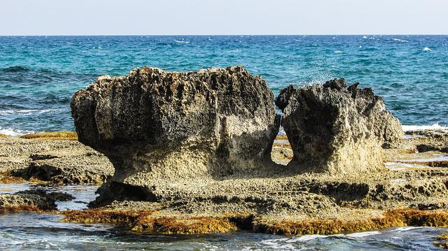 Cyprus, Cavo Greko, Rock, Rocky Coast, Sea