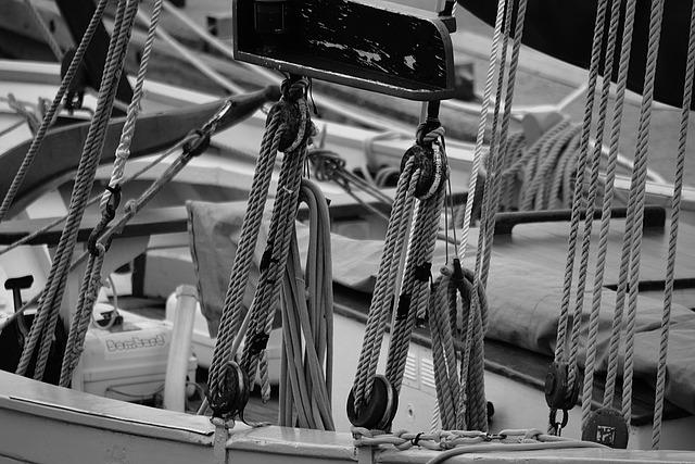 Strings, Sailboat, Navigation, Rope, Sea