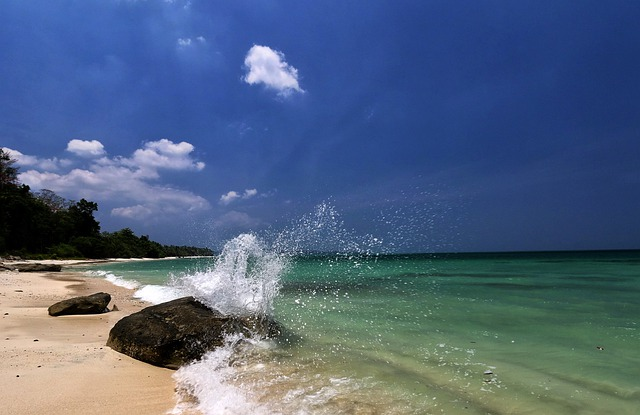 Sea, Beach, Ocean, Water, Sand, India, Andaman, Summer
