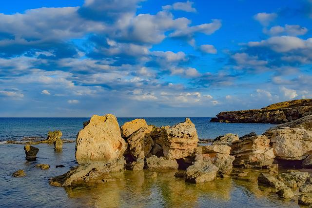 Sea, Seashore, Rock, Formation, Nature, Landscape
