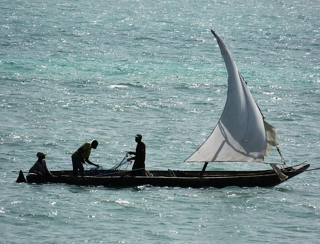 Sea, Ship, Fishermen, Zanzibar, Fishing, Water