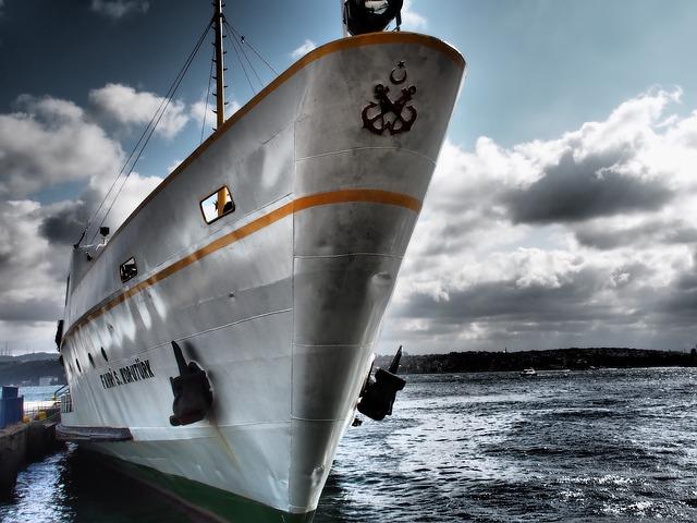 Ship, Ferry, Port, Harbor, Sea, Ocean, Passenger Ship
