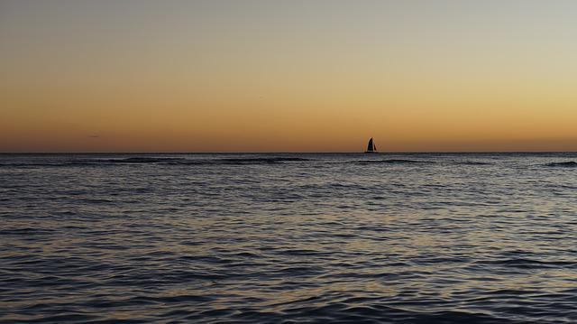 Sunset, Beach, Ocean, Sea, Shore, Wave
