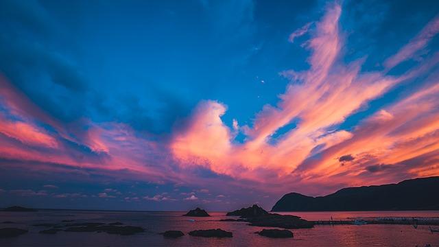 Sea, Sky, The Evening Sun