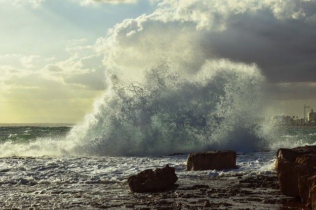 Storm, Wave, Crushing, Water, Sea, Rocky, Splash