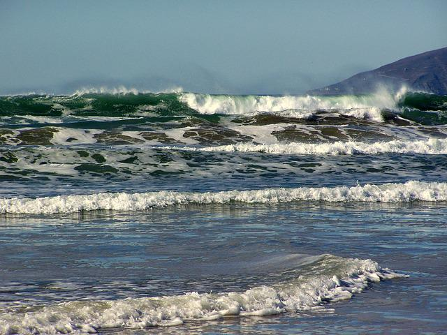 Wave, Waves, Water, Sea, Spray