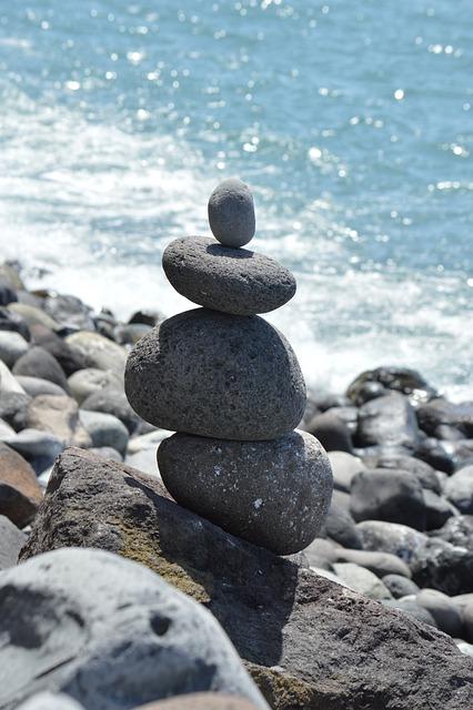 Steinmann, Stone, Tower, Sea, Nature, La Reptiles, Rock