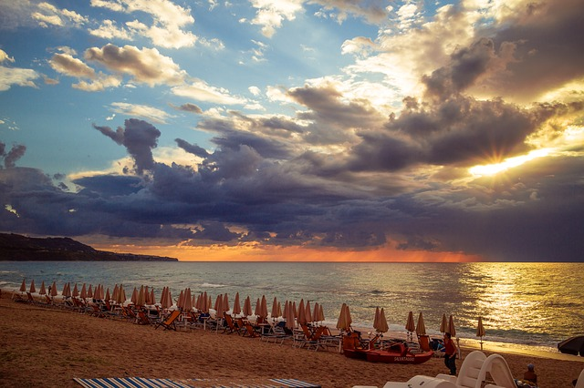 Sunset, Calabria, Beach, Italy, Summer, Sea, Tyrrhenian