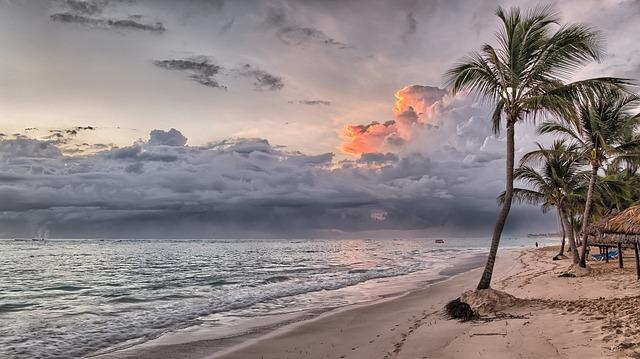 Beach, Dominican Republic, Caribbean, Summer, Sea