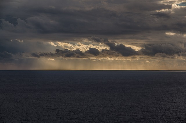 Sea, Sun, Light, Sunset, Sun And Sea, Sky