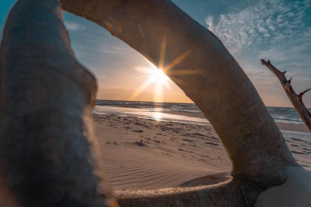 Baltic Sea, West Beach, Sunset, Sea, Nature